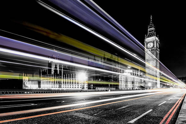 Parliament Photograph - Big Ben And Westminster by Ian Hufton