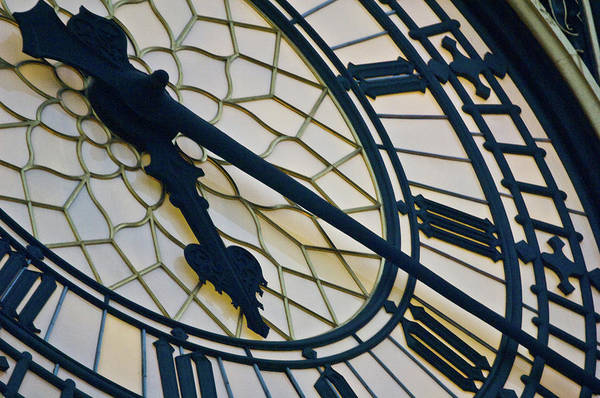 Hands Of Time Photograph - Big Ben Clock Face, London, England by Panoramic Images