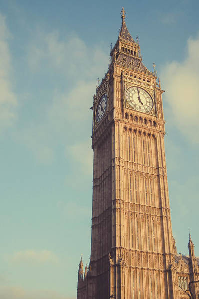 The Clock Tower Photograph - Big Ben Clock Tower Two Sides View by Sherif A. Wagih (s.wagih@hotmail.com)
