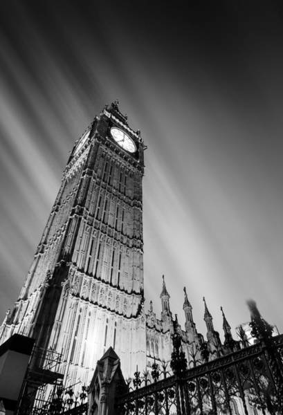 Parliament Photograph - Big Ben London by Ian Hufton