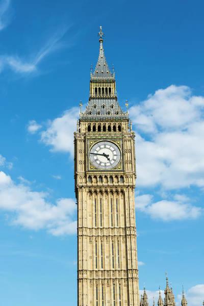 The Clock Tower Photograph - Big Ben, London, Uk by John Harper