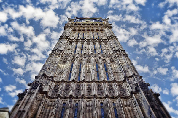 Photograph - Big Ben Perspective by Joan Carroll