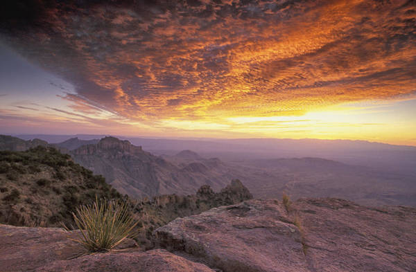 North Rim Photograph - Big Bend Sunrise by Christian Heeb