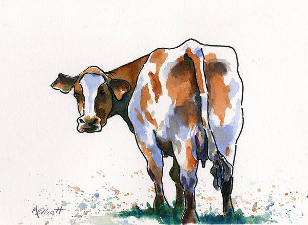 Farm Painting - Big Bertha by Marsha Elliott