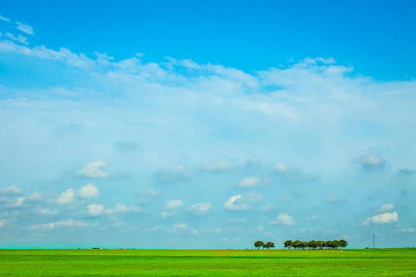 Photograph - Big Blue Texas Sky by Melinda Ledsome