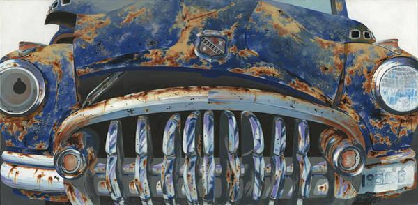 Wall Art - Painting - Big Buxom Buick by John Wyckoff