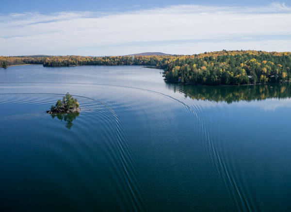 Photograph - Big Cedar Lake. Quebec by Rob Huntley