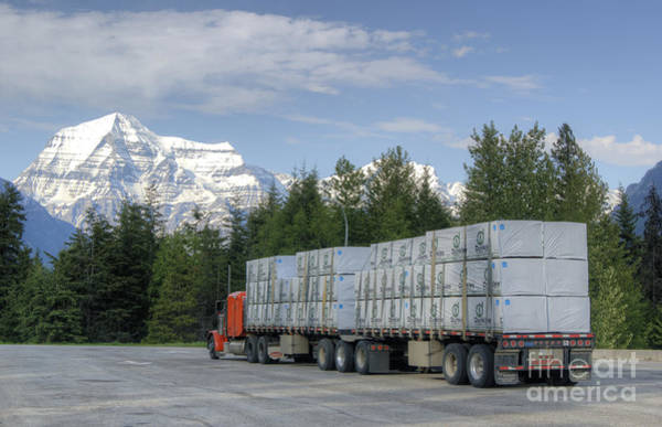 Photograph - Big Country Big Truck by David Birchall