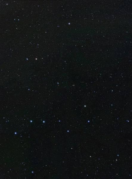 Ursa Major Photograph - Big Dipper And Ursa Minor Constellation by Eckhard Slawik