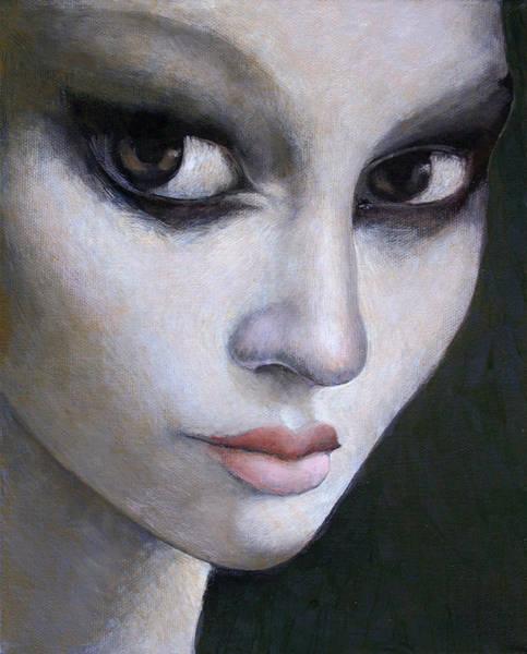 Wall Art - Painting - Big Eyes by Ilir Pojani