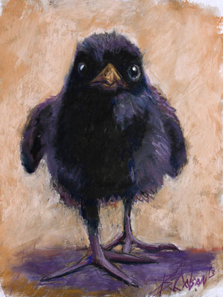 Blackbird Painting - Big Foot by Billie Colson