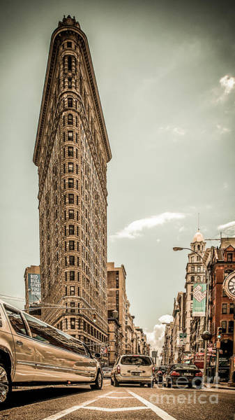 Flatirons Photograph - Big In The Big Apple by Hannes Cmarits