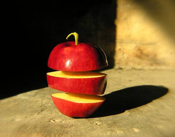Mac Photograph - Big Mac-apple Diet by Adam Orzechowski