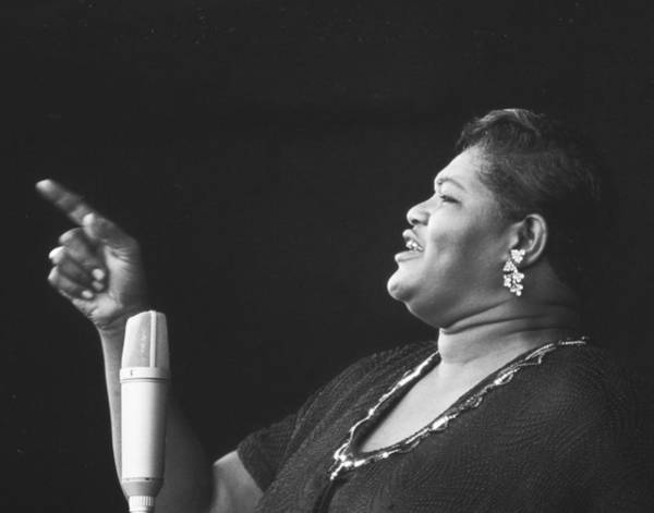 Jazz Wall Art - Photograph - Big Mama Thornton At Monterey Jazz Festival D232 by Gary Russell