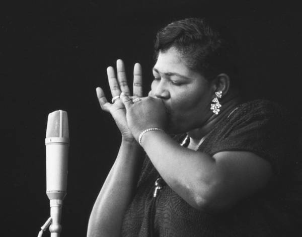 Jazz Wall Art - Photograph - Big Mama Thornton At Monterey Jazz Festival D233 by Gary Russell