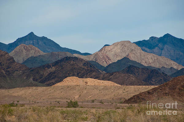 Blythe Photograph - Big Maria Mountains by Mark Newman