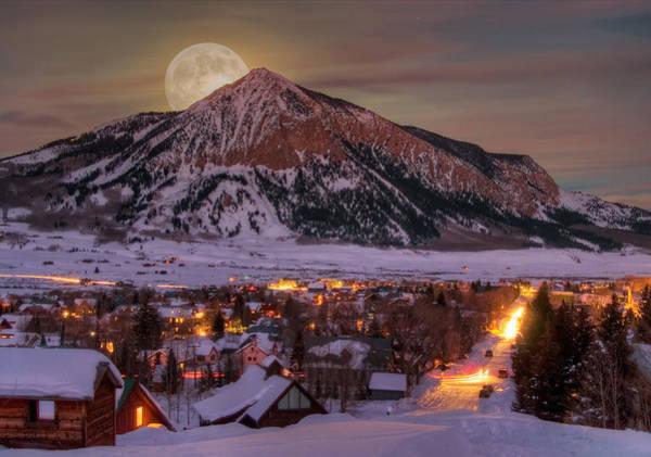 Dusty Wall Art - Photograph - Big Moon Rising by Dusty Demerson