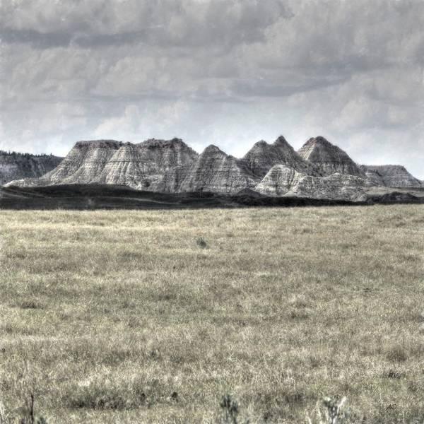 Prairie View Digital Art - Big Mountain Prairie by Aliceann Carlton