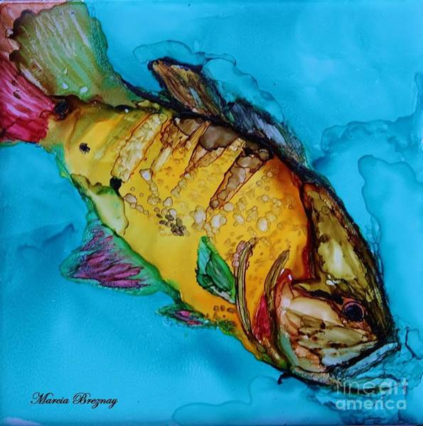 Painting - Big Mouth by Marcia Breznay