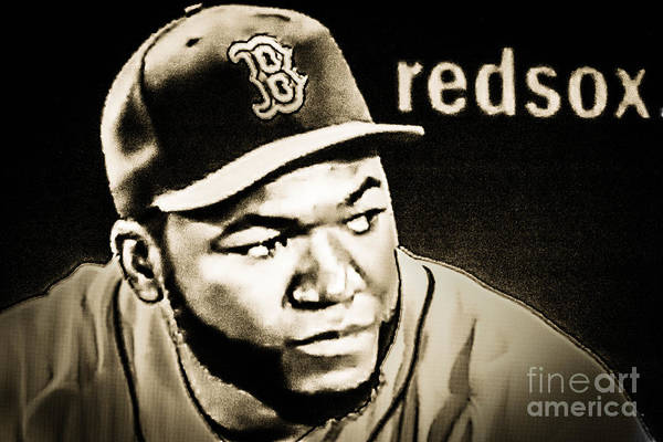 Photograph - Big Papi by George DeLisle