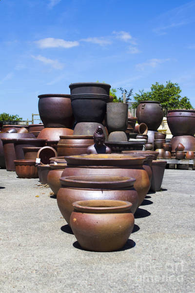 Photograph - Big Pots by Brian Roscorla
