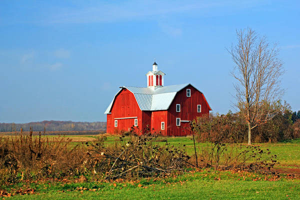 Photograph - Big Red Barn by Jennifer Robin