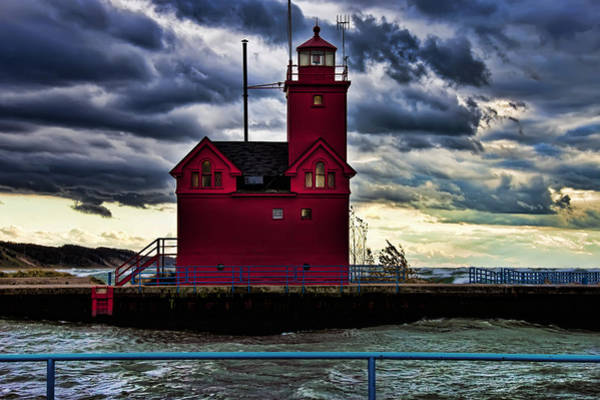 Holland Mi Wall Art - Photograph - Big Red Holland Michigan by Evie Carrier