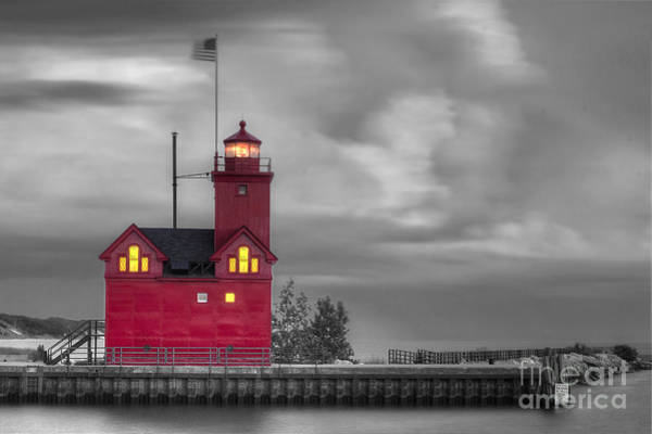 Big Red Photograph - Big Red by Twenty Two North Photography