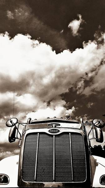 Freightliner Wall Art - Photograph - Big Rig by Kevin D Davis