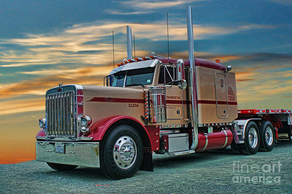 Wall Art - Photograph - Big Rig Weekend-2014 Catr5051a-14 by Randy Harris