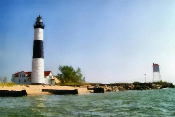 Photograph - Big Sable Point Light by Michelle Calkins