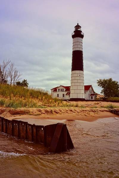 Photograph - Big Sable Point Lighthouse by Michelle Calkins