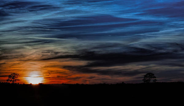 Photograph - Big Sky Sunset by Dave Bosse