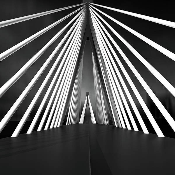Contrast Wall Art - Photograph - Big String Bridge by Antonyus Bunjamin (abe)