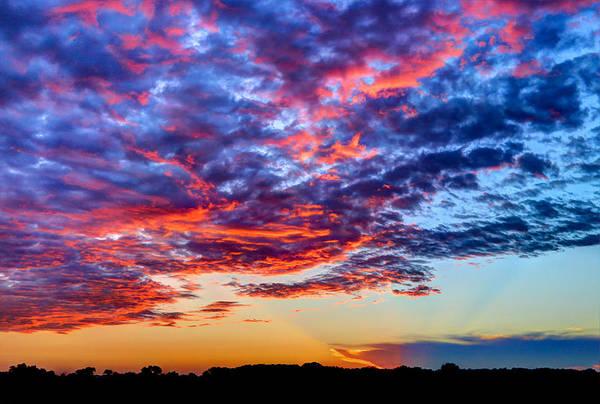 Wall Art - Photograph - Big Sunset Sky by Anna-Lee Cappaert