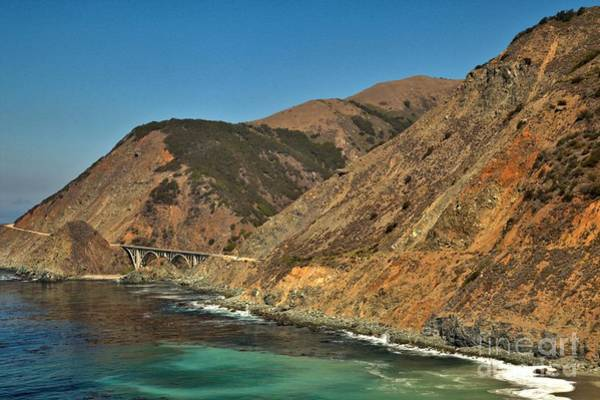 Photograph - Big Sur And The Bridge by Adam Jewell