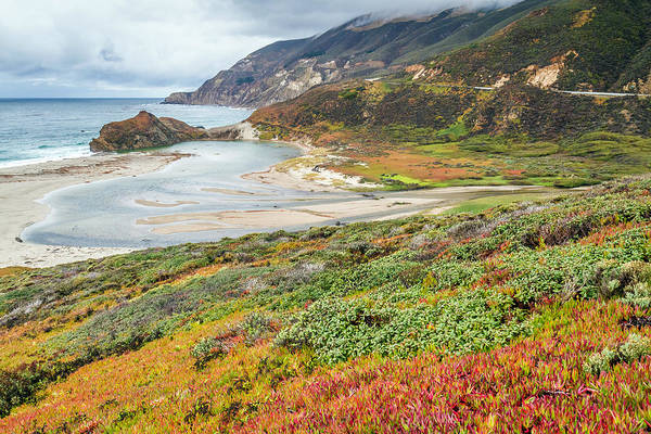 Photograph - Big Sur California In Autumn by Pierre Leclerc Photography