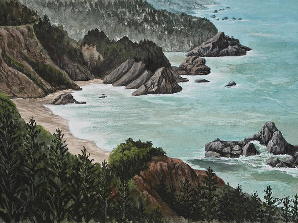 Painting - Big Sur by Darice Machel McGuire