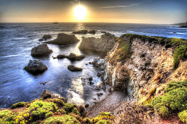Wall Art - Photograph - Big Sur Sunset by Shawn Everhart
