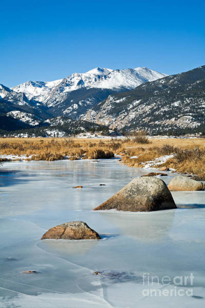 Photograph - Big Thompson River Through Moraine Park In Rocky Mountain National Park by Fred Stearns