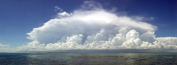 Photograph - Big Thunderstorm Over The Bay by Duane McCullough