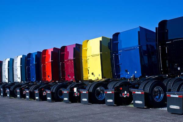 Crossville Wall Art - Photograph - Big Trucks 2 by Douglas Barnett