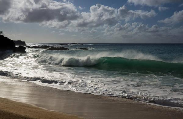 Photograph - Big Wave At Waimea Bay - North Shore - Oahu - Hawaii by Georgia Mizuleva