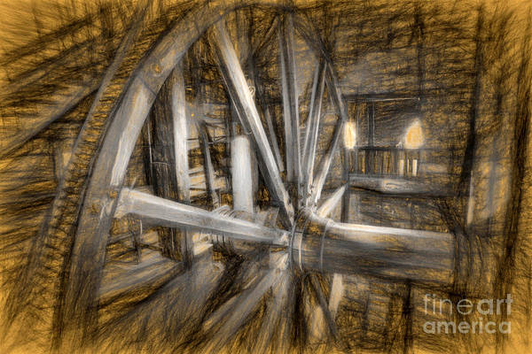 Photograph - Big Wheel Effects by Paul W Faust -  Impressions of Light