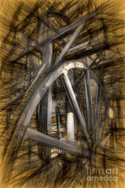 Photograph - Big Wheel  by Paul W Faust -  Impressions of Light