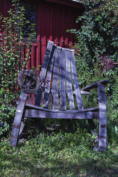 Wall Art - Photograph - Big Wooden Chair by Garry Gay