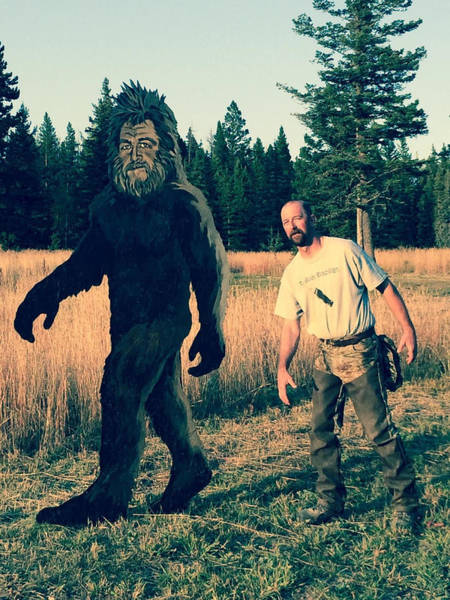 Painting - Bigfoot by Tim  Joyner