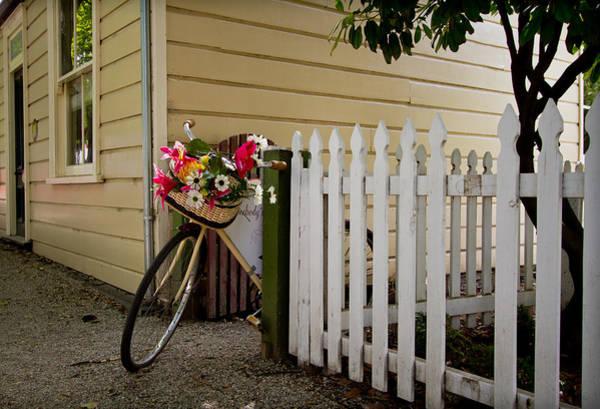 Photograph - Bike And Fence by Jenny Setchell