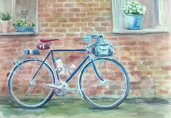 Painting - Bike In The Alley by Mimi Boothby