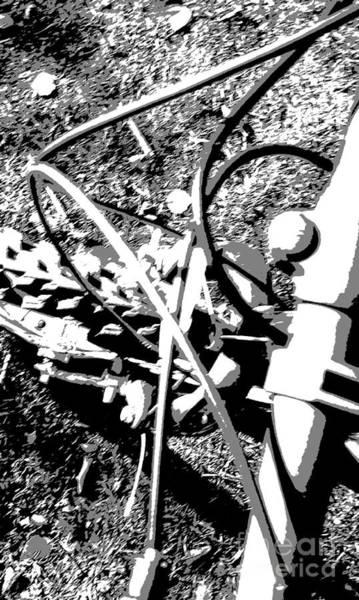 Posterize Photograph - Bike by Martin Howard